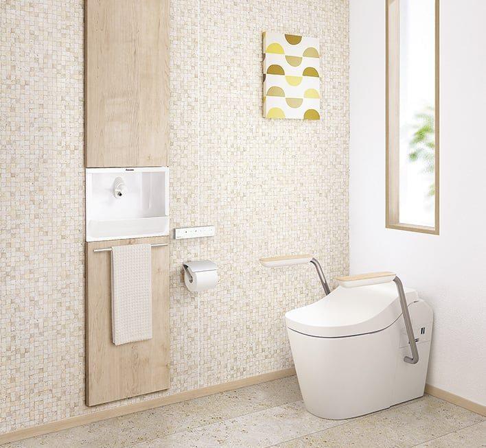 トイレルーム(便器と手洗い器)